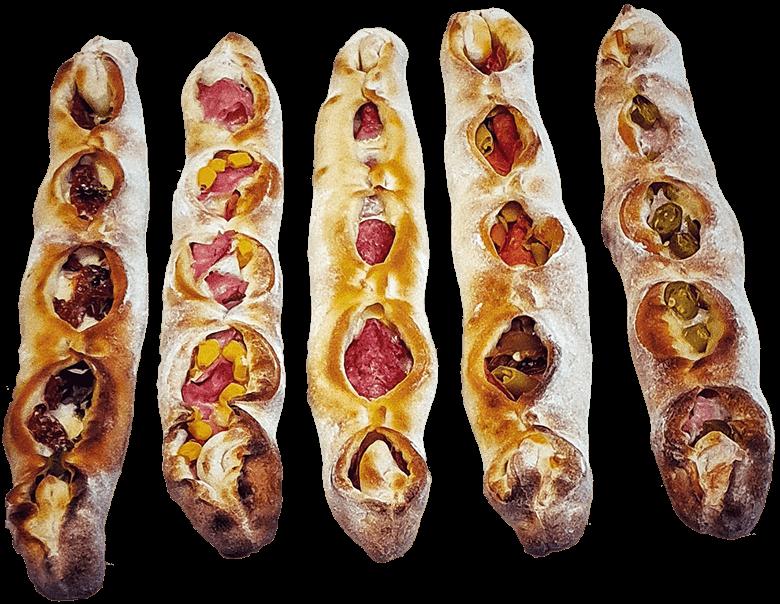 Calientestick Pizzastangerl Pizzaschiffchen
